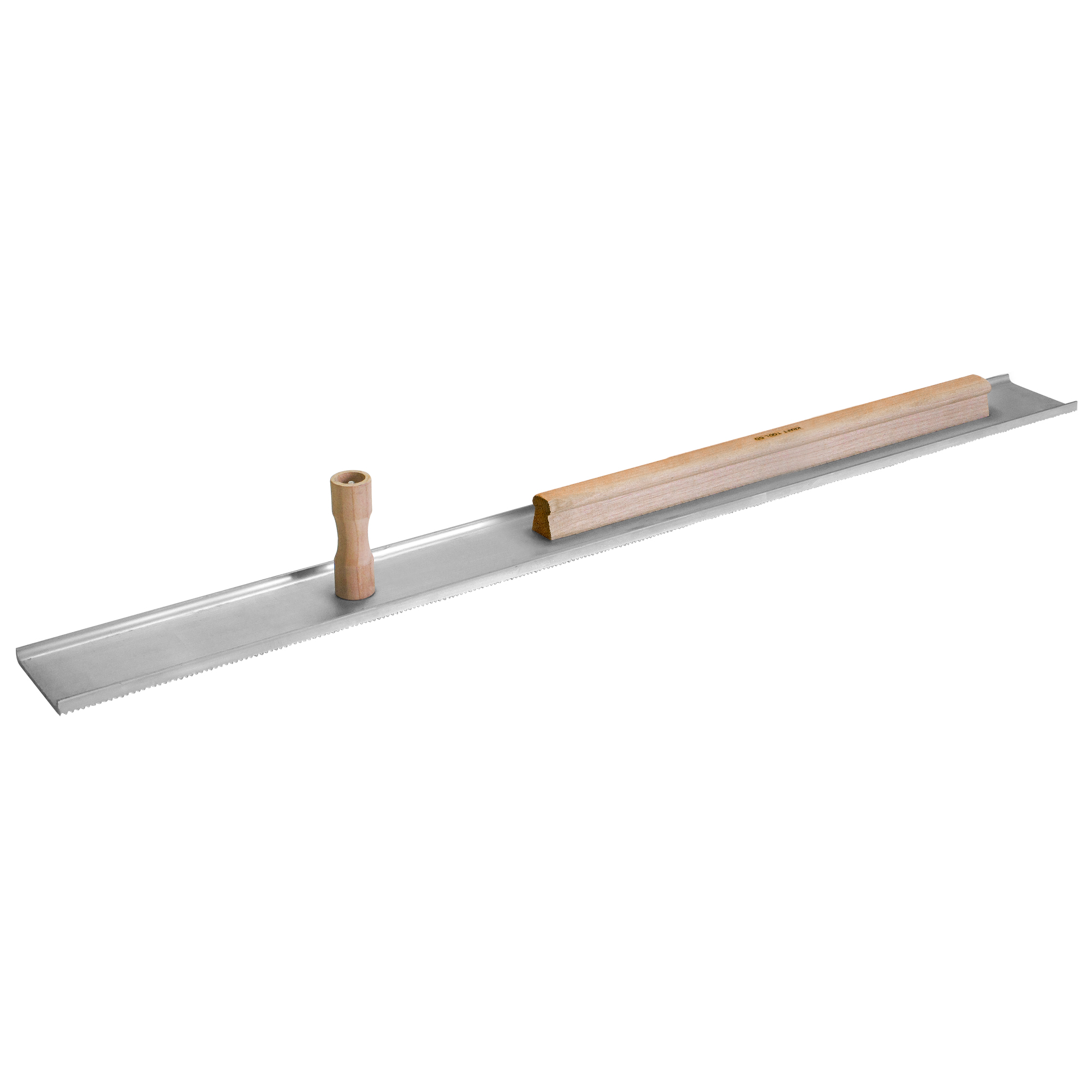 42inch Single Serrated Magnesium Darby With 1-knob And 24inch Rib Handle - Pl404-24 - Measuring & Sensors Tools Drywall Plastering Darbies PL404-24