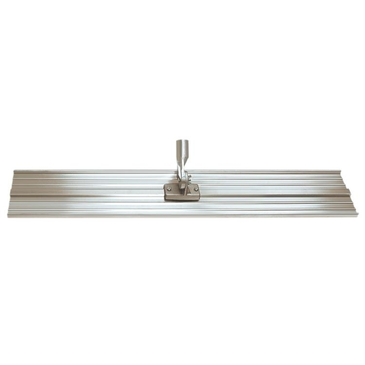 48inch X8inch Lightweight Magnesium Bull Float With 2-hole Threaded Bracket - Cc806 - Concrete Tools Bull Floats CC806