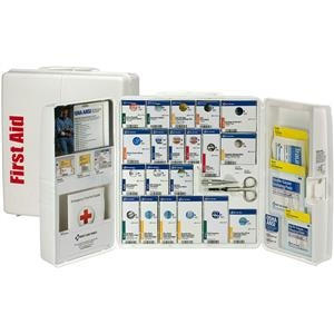 50-person Ansi A+ Large Smartcompliance Food Service First Aid Cabinet - 90659ac - Safety And Security First Aid Ansi First Aid Kits 90659AC