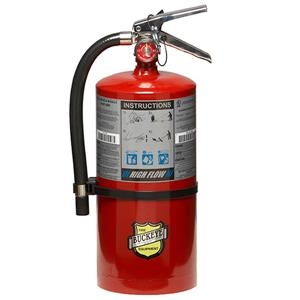 """Safety And Security Fire Protection Fire Extinguishers Multi Purpose Fire Extinguishers Pro Line Extinguishers - 12850be - Buckeye 20 Lb Bc High Flow Extinguisher; 21 1/4""""h X 8 3/4""""w X 7 1/2""""d; 60b:c 12850BE"""