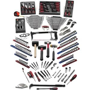 Gearwrench 210-piece Career Builder Tep Starter Tool Set - 83091gw - Tools And Instruments Tools And Tool Storage Gearwrench 83091GW