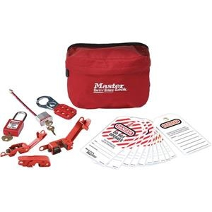 Master Lock Compact Lockout Pouch (electrical) - S1010e410ml - Worker Safety And Security Lockout Kits S1010E410ML
