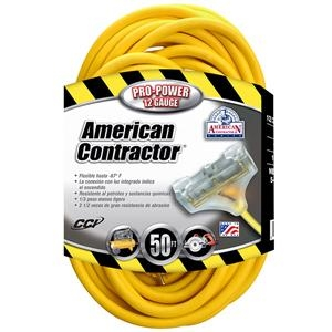 Tri-source Sjtw Extension Cord With Lighted End - 4188sw8802sw - Cords Extension Cords 4188SW8802SW