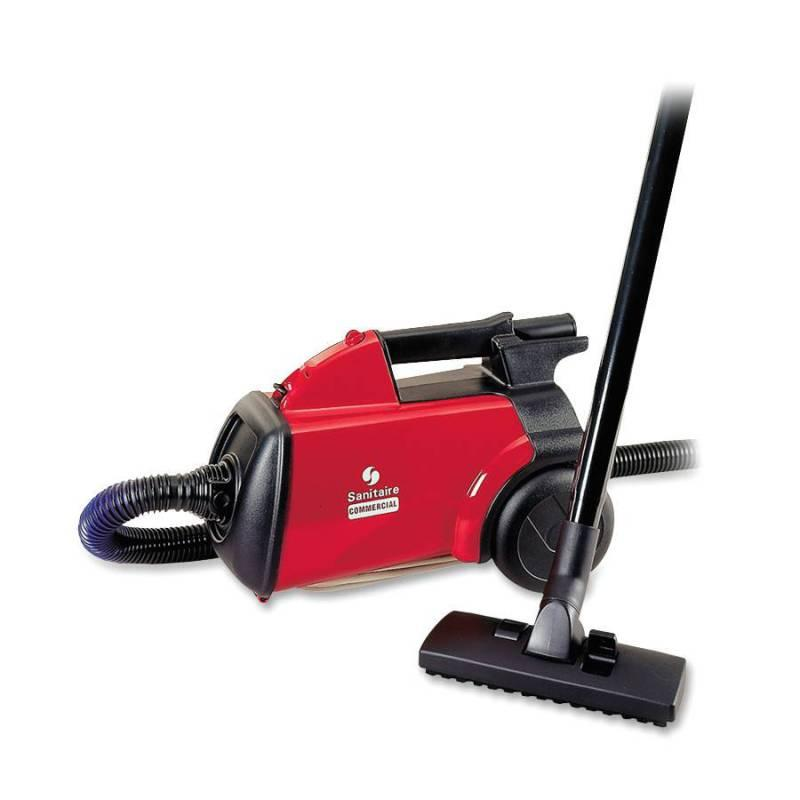 Electrolux Sanitaire Commercial Canister Vacuum - 7 Inch Hose; 20 Inch Chord; 8 Pounds - Red - 1310131 - Janitorial & Maintenance Floor Care Machines & Vacuums Vacuums Canister 1310131