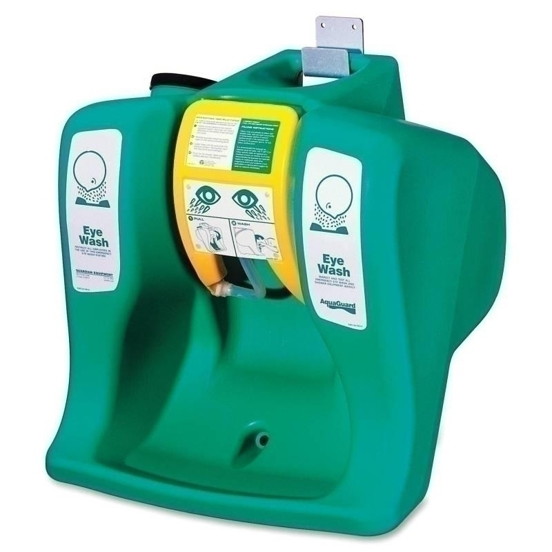 Safety & Security Eyewash Stations & Showers Portable Emergency Eyewash Stations - 1377671 - R3 Safety Self-contnd Gravity-flow Eyewash Unit - Portable Eyewash; Self-contained; 16 Gal; Green 1377671