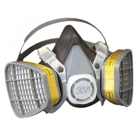 Safety And Security Respiratory Protection N Series Cartridges And Filters - B313170 - 3m 5000 Series Half Facepiece Respirators; 5303 B313170