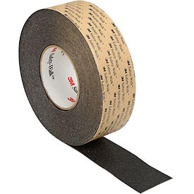 Safety And Security Warning Tapes Tapes And Flags Warnings - B134783 - 3m Safety-walk Slip-resistant General Purpose Tapes/treads 610; Bk; 2 Inx60 Ft;2/case B134783