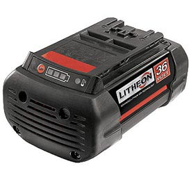 Batteries; Chargers & Accessories Cordless Tool - B251216 - Bosch Bat837; 36v 2.0a-h Lithium Ion Fatpack Battery B251216