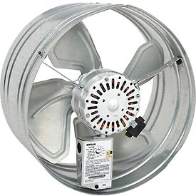 Hvacr And Fans Exhaust Fans And Ventilation Roof Ventilators - B602542 - Broan 35316 Powered Gable Mount Attic Ventilator-1600 Cfm For Attics Up To 2280 Sq. Ft. B602542