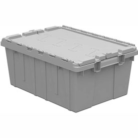 Storage And Shelving Bins Totes And Containers Containers Closet And Residential Storage - 422097 - Buckhorn Attached Lid Container Ac2115090201000-21-1/2x15-1/4x9-5/8-pkg Qty 6 422097