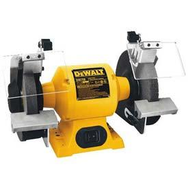 """Tools And Instruments Grinders And Cutoff Grinding And Buffing Machines - B1107194 - Dewalt Bench Grinder; Dw756; 6"""" Wheel Diameter; 5/8 Hp; 3450 Rpm B1107194"""