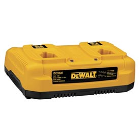 Dewalt Dc9320 7.2v-18v Nicd/nimh/li-ion 1 Hour Dual Port Charger - B242697 - Batteries; Chargers & Accessories Cordless Tool B242697
