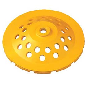 """Tools And Instruments Saws And Blades Blades Diamond Diamond Saw Blades - B1107109 - Dewalt Extended Performance Cup Grinding Wheel; Dw4773t; 7"""" Diameter; 8600 Rpm B1107109"""