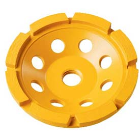 """Tools And Instruments Saws And Blades Blades Diamond Diamond Saw Blades - B1107124 - Dewalt Extended Performance Cup Grinding Wheel; Dw4777; 5"""" Diameter; 12200 Rpm B1107124"""