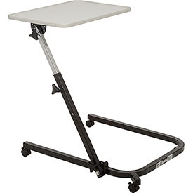 Medical And Laboratory Equipment Medical And Maintenance Carts Medical Portable Tables - B275566 - Drive Medical 13000 Pivot And Tilt Adjustable Overbed Table Tray B275566