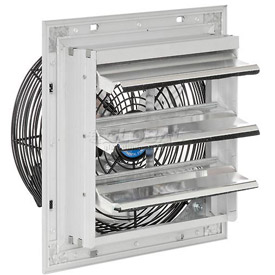 "Exhaust Ventilation Fan With Shutter 10"" 3-speed With Hardware - 248448a - Hvacr And Fans Exhaust Fans And Ventilation Exhaust Fans Shutter And Guard Mount 248448A"