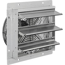 "Exhaust Ventilation Fan With Shutter 12"" 3-speed With Hardware - 294495a - Hvacr And Fans Exhaust Fans And Ventilation Exhaust Fans Shutter And Guard Mount 294495A"