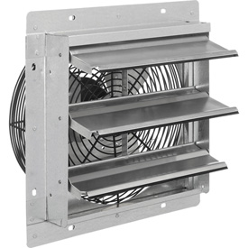 "Hvacr And Fans Exhaust Fans And Ventilation Exhaust Fans Shutter And Guard Mount - 294495 - Exhaust Ventilation Fan With Shutter 12"" Single Speed With Hardware 294495"
