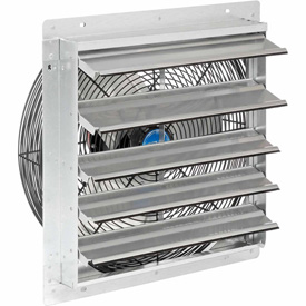 "Exhaust Ventilation Fan With Shutter 18"" 3-speed With Hardware - 294496a - Hvacr And Fans Exhaust Fans And Ventilation Exhaust Fans Shutter And Guard Mount 294496A"