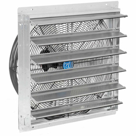 "Hvacr And Fans Exhaust Fans And Ventilation Exhaust Fans Shutter And Guard Mount - 294497a - Exhaust Ventilation Fan With Shutter 24"" 2-speed With Hardware 294497A"