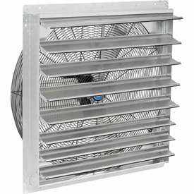 "Hvacr And Fans Exhaust Fans And Ventilation Exhaust Fans Shutter And Guard Mount - 294498a - Exhaust Ventilation Fan With Shutter 30"" 2-speed With Hardware 294498A"