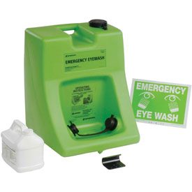 Safety And Security Eyewash Stations And Showers Portable Emergency Eyewash Stations - 829003 - Fendall Porta Stream Ii Portable Eyewash Station-16 Gallon With Solution 829003