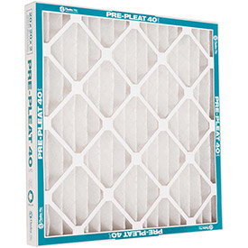 """Flanders 80055.011625 40 Standard Quality Pleated Lpd Panel Filters; 25"""" X 16"""" X 1""""; 12/pack-pkg Qty 12 - B1939664 - Hvacr And Fans Air Filters Pleated Air Filters B1939664"""