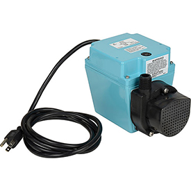 Utility Pumps Plumbing & Pumps Pumps Utility Pumps - B778491 - Little Giant 503103 3e-12n Small Submersible Pump-dual Purpose- 115v- 500 Gph At 1' B778491