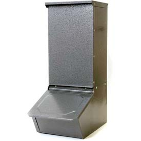 Outdoor And Grounds Maintenance Animal Housing And Livestock Animal Feeders And Waterers - B900255 - Little Giant Hog Feeder Hgfs; Heavy Gauge Steel; Single-door B900255