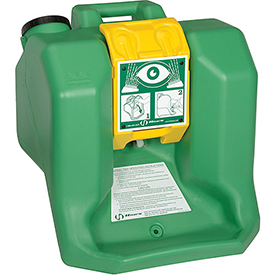 Safety And Security Eyewash Stations And Showers Portable Emergency Eyewash Stations - B549155 - Haws 16-gallon Portable Eyewash Station B549155