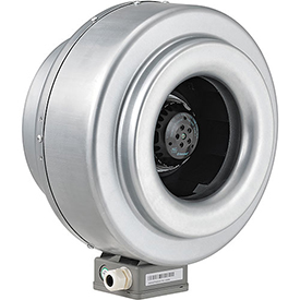 Hvacr And Fans Exhaust Fans And Ventilation Inline Duct Fans - 292658 - Inline Mixed Flow Duct Fan; 10 Inch; Galvanized Steel; 630 Cfm; Energy Star 292658