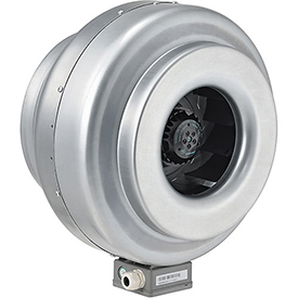 Hvacr And Fans Exhaust Fans And Ventilation Inline Duct Fans - 292659 - Inline Mixed Flow Duct Fan; 12 Inch; Galvanized Steel; 930 Cfm; Energy Star 292659
