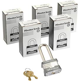 Master Lock General Security Laminated Keyed Alike Padlocks-no. 3kalh-pkg Qty 3 - B588810 - Storage & Shelving Lockers Lockers Locks B588810