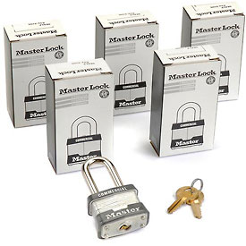 Master Lock General Security Laminated Padlocks-no. 3kalf-pkg Qty 3 - B588809 - Storage & Shelving Lockers Lockers Locks B588809