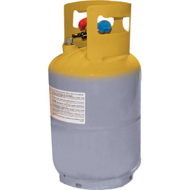 """Mastercool 62010 30 Lb. D.o.t. Refrigerant Recovery Tank Without Float Switch 1/4"""" Fl-m - B1505247 - Hvacr And Fans Chemicals Refrigerants Lubricants And Cleaners Refrigerants Refrigerants Green Alternatives B1505247"""