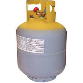 """Mastercool 65010 50 Lb. D.o.t. Refrigerant Recovery Tank With Float Switch 1/4"""" Fl-m - B1542155 - Hvacr And Fans Chemicals Refrigerants Lubricants And Cleaners Refrigerants Refrigerants Green Alternatives B1542155"""