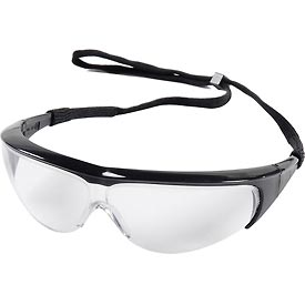 Safety And Security Eye Protection Visitors Spectacles - 962378 - Millennia Classic Spectacle; Black; Anti-scratch; 11150350 962378