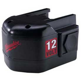 Milwaukee 48-11-1970 12v 2.4 Amp Nickel Cadmium Battery Pack - B1403531 - Batteries; Chargers & Accessories Cordless Tool B1403531