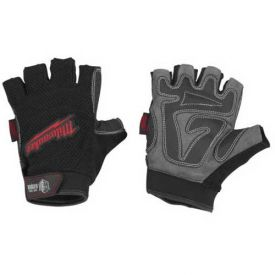 Work Safety Protective Gear Youngstown Military Work Glove Series - B1402851 - Milwaukee 49-17-0123 Fingerless Work Gloves-x-large B1402851