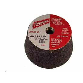 "Tools And Instruments Abrasives Grinding And Cutting Grinding And Cutoff Wheels - B918540 - Milwaukee 49-93-5220 Type 11 Metal Cup Wheel-5""x5/8-11 16 Grit B918540"