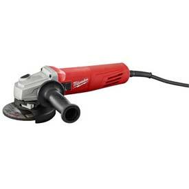 """Tools And Instruments Grinders And Cutoff Power Grinders - B536491 - Milwaukee 6146-33 4-1/2"""" Slide Lock-on Small Angle Grinder B536491"""