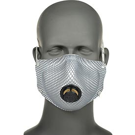 Work Safety Protective Gear Disposable Respirators - B312214 - Moldex 2400n95 2400 Series N95 Particulate Respirators Plus Nuisance Ov/ozone Relief; 10/bag B312214