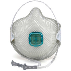 Work Safety Protective Gear Disposable Respirators - B311460 - Moldex 2730n100 2730 Series N100 Particulate Respirators With Handystrap; 5/box B311460