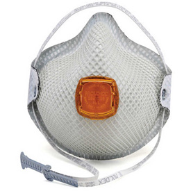 Work Safety Protective Gear Disposable Respirators - B311552 - Moldex 2800n95 2800 Series N95 Particulate Respirators With Handystrap; Medium/large; 10/box B311552