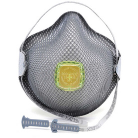 Moldex 2840r95 2840 Series R95 Particulate Respirators With Handystrap; Medium/large; 10/box - B311555 - Work Safety Protective Gear Disposable Respirators B311555