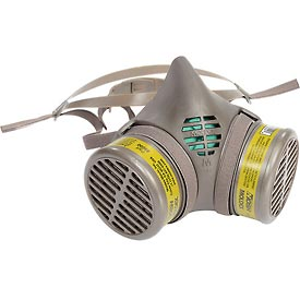 Safety And Security Respiratory Protection N Series Cartridges And Filters - B311893 - Moldex 8602 8000 Series Multi-gas/vapor Smart Cartridge Assembled Respirator; Medium; 1/pack B311893