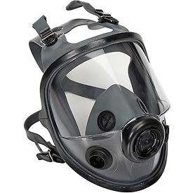 North 5400 Series Low Maintenance Full Facepiece Respirators; 54001 - B313316 - Safety & Security Respiratory Protection Cartridge Respirators B313316