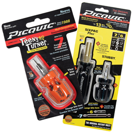 Tools And Instruments Screwdrivers Precision Screwdrivers - 500555 - Picquic Dynamic Duo Combo Pack &amp Free Teeny Turner Precision Multi-bit Driver 500555