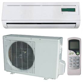 Hvacr And Fans Air Conditioners Ductless Split Air Conditioner - 653510 - Pridiom Landmark Series Ductless Air Conditioner Ams180hr-18;000 Btu 13 Seer 653510
