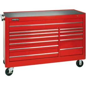 """Tools And Instruments Tool Boxes Storage And Organization Chests And Roller Cabinets - B944722 - Proto J456646-12bl 450hs 66"""" 12 Drawer Tool Chest Blue B944722"""